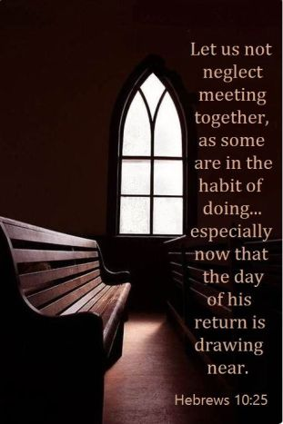Hebrews 10-25