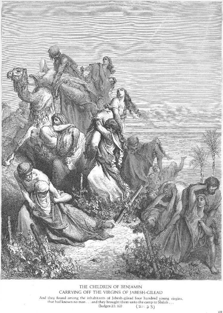 Judges 21 - Gustave Dore