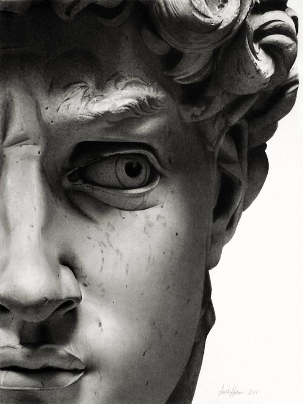 David Face Detail Linda Huber