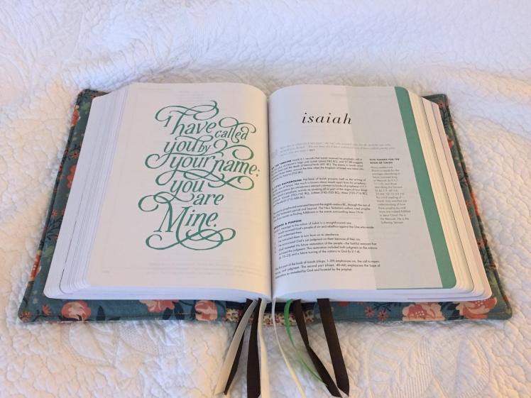 SRT Bible Isaiah Page