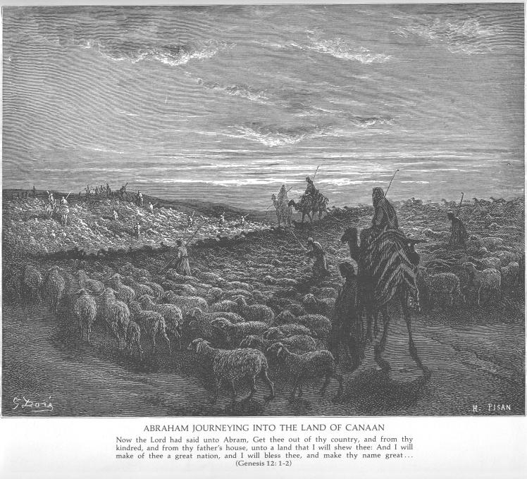 Abraham Into Canaan Dore
